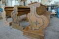 Rekonstrukce barokních lavic