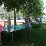 Dětský den, pingpongové stanoviště